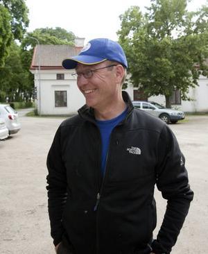 Jan Lundström är glad att få köra igång.