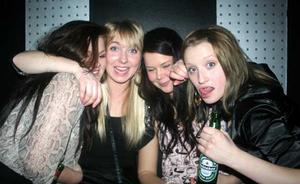 Silk. Sofie, Fanny, Erika och Sofie