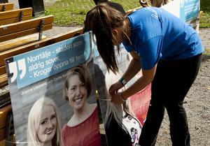 De yngre moderaterna gav uttryck för yngre budskap.