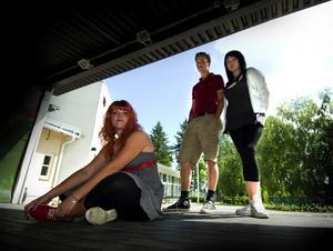 Bonus inför Peace & Love. Sofia Rosén, Gunnar Nises och Emelie Lööf är alla med i Borlänge Ungdomsråd. De är några av arrangörerna bakom årets