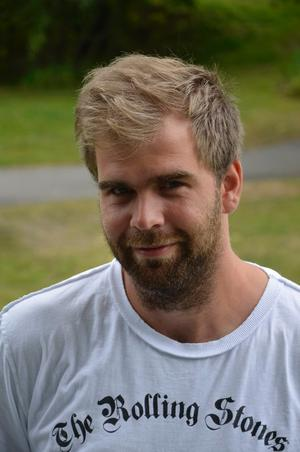 Nicklas Högberg, festivalarrangör.