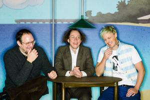 Komikerna Jonatan Unge, Kristoffer Svensson och Simon Svensson ligger bakom räddningsaktionen