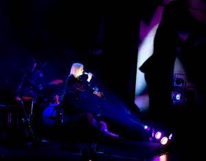 SLUTET. Anna Ternheim räddar hem den sista stjärnan i betyget med ett fantastiskt slut på konserten i Gävle i går.