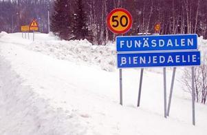Nu blir det i Åre som i Funäsdalen, vägskyltar på samiska.