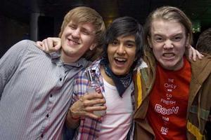 Silk Christoffer, Viktor och William.