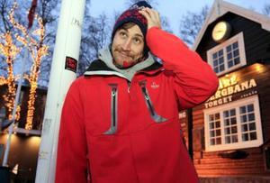 Gabriel Gåsste flyttade till Åre för att gå skidgymnasium, efter skolan blev han kvar i byn.  Foto: Patrick Rosenberg
