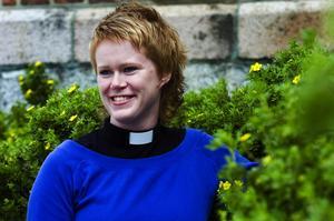 Sommarlov. När Maria inte jobbar som präst tillbringar hon gärna sommaren i Bohuslän hos sina släktingar. Foto:Mikael Forslund