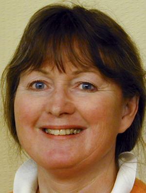 Ewa Gustafsson, forskare och ergonom.   Foto: Göteborgs universitet