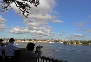 Turism. Sverige blir allt hetare som turistland.foto: scanpix