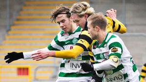 Nya anfallsduon. VSK spelar Joakim Häll tillsammans med Andreas Eriksson Ljunggren på försäsongen.