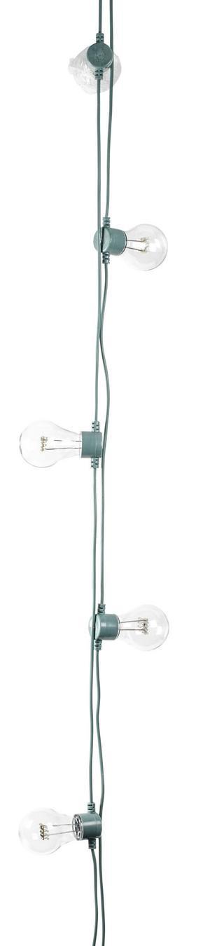 GRÖNT. LED-ljusslingan från Lagerhaus kostar 399 kronor.