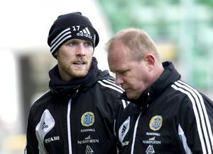 GIF Sundsvalls målvakt Tommy Naurin är snart redo för att kliva in i elden.