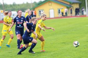 Victoria Forss var bäst på plan, och gjorde mål igen.