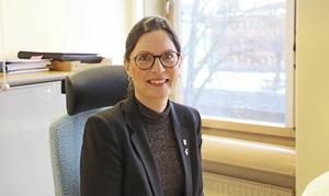 Eva Jackson, chef för förvaltningen Livsmiljö Gävle där bland annat bygg- och miljöfrågor hanteras.