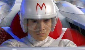 """Emile Hirsch är en av få saker som inte är datoranimerade i """"Speed Racer"""", en av årets publikfloppar i USA.  Foto: Sandrew Metronome"""