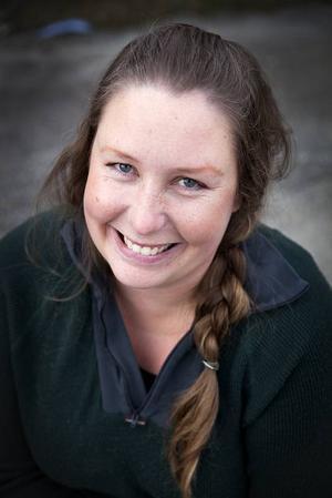 Johanna Berg har bott  i Ocksjön i cirka fyra år.