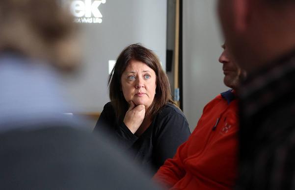Har vi råd att inte satsa på Hedlanda, undrade Maria Cederberg, vd Destination Vemdalen
