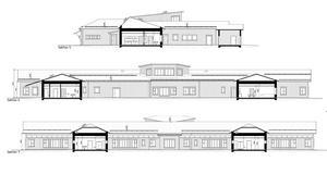 Så här kommer den nya förskolan att se ut. December 2016 ska den stå klar.