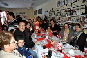 Förra året kom nästan 120 personer till Röda Korsets julfirande i Hedemora.