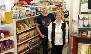 Magnus Brink tar över butiken efter mamma Eva Brink.