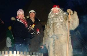 Anna Loveus och Calle Hedman från eventbyrån Fieldworks jobbar på uppdrag av Åreföretagarna och J/H Turism med att göra julen stor i Åre. Tomten, alias Jocke Nässil, är förstås en extremt viktig nyckelperson i sammanhanget.