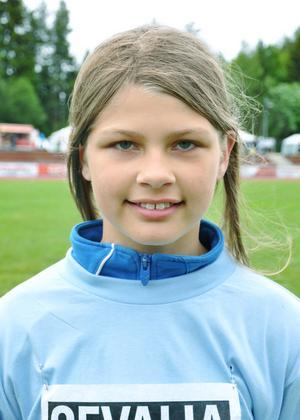 Vilma Lennartsson, 11 år, Hedesunda skola, klass 5– Att man får möta andra klasser och träffa kompisar.