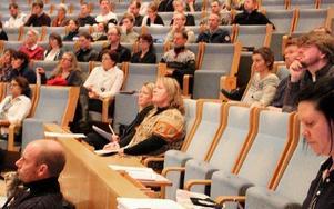 Handläggare och beslutsfattare på kommunerna var inbjudna av Länsstyrelsen till seminariet runt vindkraftens påverkan på människor, natur, djur och miljö, som hölls i Teknikdalen på tisdagen.
