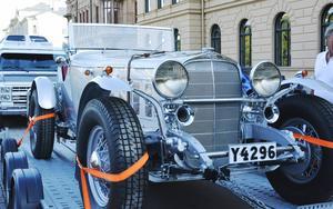 Bent Fridholms nyrenoverade Chevrolet var en av kvällens mest populära bilar.