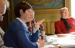 - Vi får diskutera frågan om Bergslagsvallen vidare med såväl Hoppe som med Ställdalens AIK, säger Ewa-Leena Johansson (S).