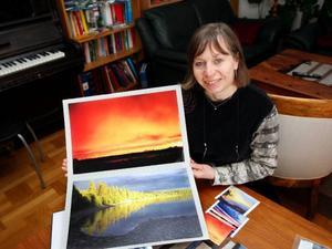 Fotografering har blivit en stor hobby för Eira.– Jag har fått flera bilder publicerade i Expressen, förklarar hon.