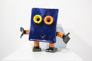 Liten robot.