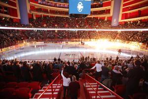 Upplevelsen och ishockeyn i SHL ska bli topp två i världen enligt ligans nya vision. Foto: Christine Olsson/TT