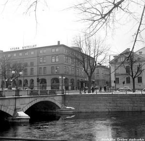 Storbron och Stora hotellet i november 1970.