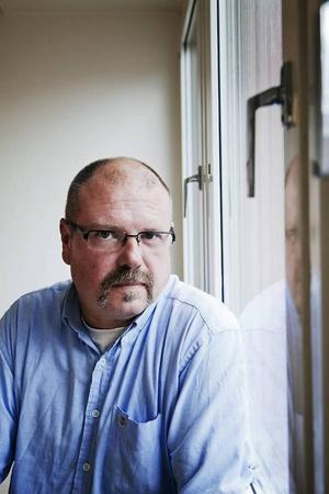 Claes Haglund från Borlänge är projektledare för Stadsmissionens projekt Crossroads i Göteborg.
