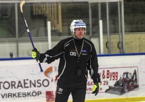 Ola Grönberg kan inte räkna med liberon Magnus Fryklund till mötet med Bollnäs.