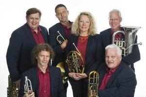 Gotlandsmusikens Brass kommer till Glöte på fredag.