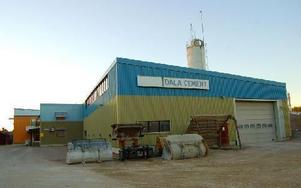 """""""Mer mark för exempelvis en ny produktions- och lagerhall skulle ge Dala Cement förutsättningar att växa och skapa jobb"""", säger vd:n Karin Jugas. Foto: Kent Olsson"""