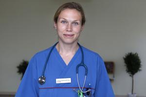 Veterinär Anna Gyllenhammar.