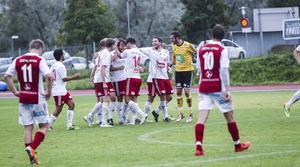 Jubel i Hudiksvall och depp i Sandviken. Mehmed Hafizovic avgjorde matchen en minut före slutet. En bitter förlust för Sandviken som hade det mesta och bästa av spelet.