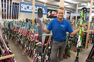 """""""Vi märker en kraftig ökning i intresset för att hyra utrustning"""", säger Erik Liljeberg."""