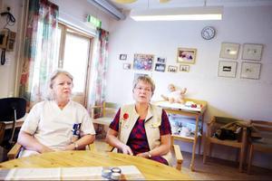 Tf verksamhetscheferna Anneli Larsson och Christina Jonsson har massor av idéer kring hur Utrikeshälsan ska kunna utvecklas.