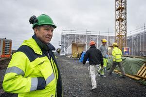 Jim Sundelin, ordförande i Byggnads Region Mellannorrland tillika ombudsman i förbundet, har många års erfarenhet av svängningarna i branschen.