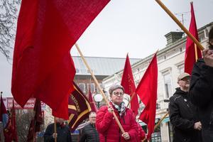 Socialdemokraternas förstamajtåg.