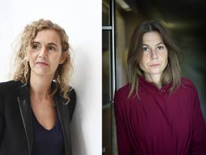 Både Delphine de Vigan och Sara Mannheimer hade känslan av att deras författarskap stod på spel, att de till slut blev tvungna att skriva romaner om sina respektive mödrar. (Bilden är ett montage).
