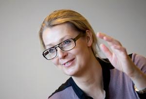 Lina Axelsson Kihlblom, förvaltningschef barn- och utbildningsförvaltningen i Nynäshamn. Foto: Paola N Andersson