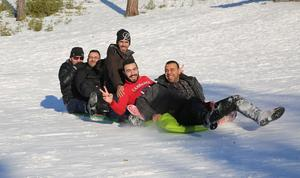 Vinteraktiviteter med SFI i Hemus.