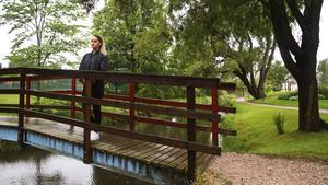 På Holmen i Avesta brukade Amanda Franklin och hennes pojkvän promenera och rasta hunden.