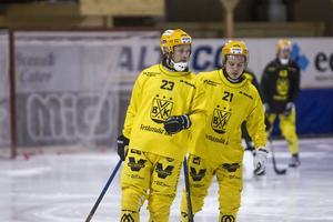Johan Löfstedt och Tobias Nyberg.