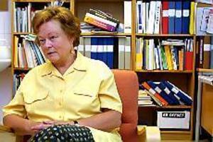 - Vi behöver mer resurser till psykiatrin, säger Cecilia Malmstedt som är chef vid psykiatriska kliniken i Gävle. Foto: LEIF JÄDERBERG