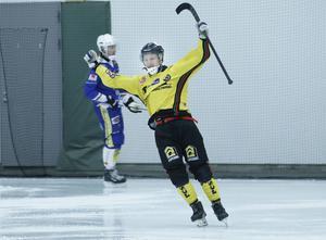 Mattias Brolin Munther gjorde också tre mål i hemmapremiären.